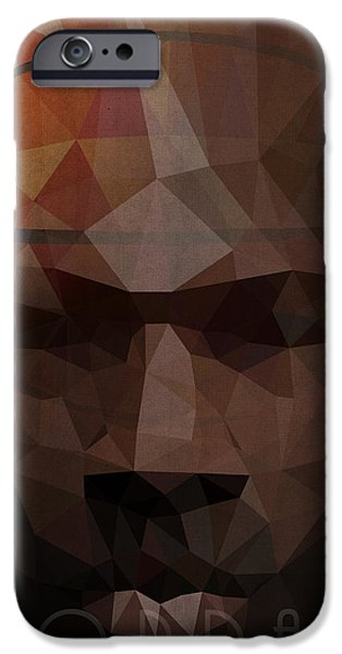 Washington Digital Art iPhone Cases - Jordan iPhone Case by Daniel Hapi