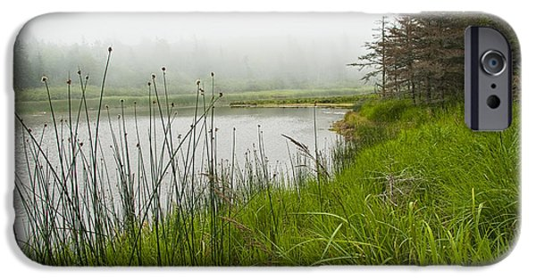 Jordan iPhone Cases - Jordan Pond in Acadia National Park iPhone Case by Randall Nyhof