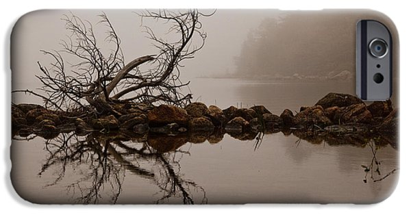 Jordan iPhone Cases - Jordan Pond iPhone Case by Karma Boyer
