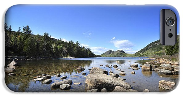 Jordan iPhone Cases - Jordan Pond iPhone Case by Terry DeLuco