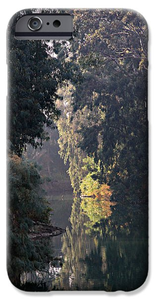 Jordan iPhone Cases - Jordan River at Yardinet iPhone Case by Stephen Stookey