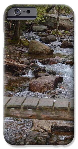 Jordan Stream iPhone Case by Lena Hatch