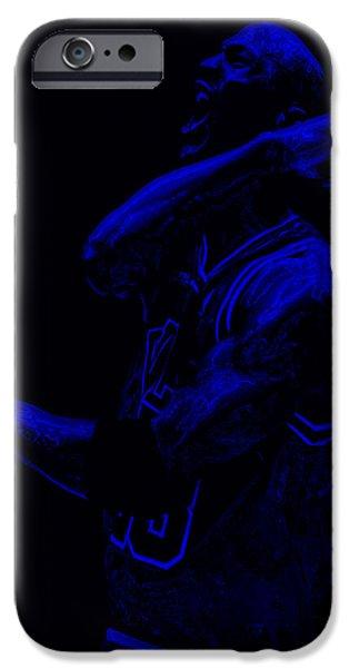 Mj Digital Art iPhone Cases - Jordan Victory  iPhone Case by Brian Reaves