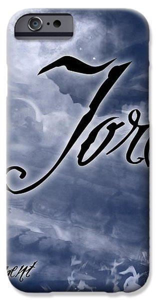 Jordan - Wise in Judgement iPhone Case by Christopher Gaston