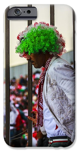 Jordan iPhone Cases - Jordanian Wig iPhone Case by Alaa Qusous