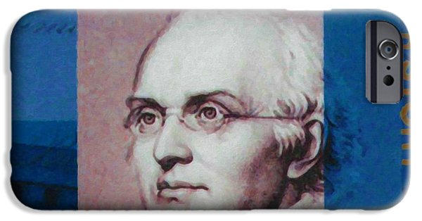 Abolition Paintings iPhone Cases - Joseph Story iPhone Case by Lanjee Chee