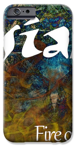 Josiah - Fire of the Lord iPhone Case by Christopher