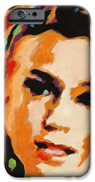 Miracle iPhone Cases - Joss Stone. Miracle Worker iPhone Case by Tanya Filichkin