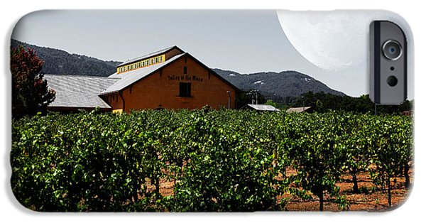 Valley Of The Moon iPhone Cases - Journey Through The Valley of The Moon 5D24485 iPhone Case by Wingsdomain Art and Photography