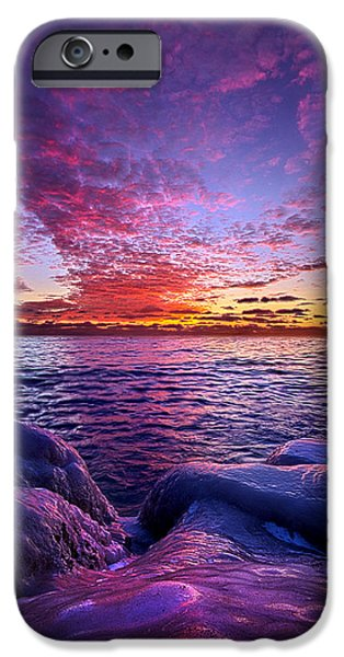 Chicago iPhone Cases - Journeys End iPhone Case by Phil Koch