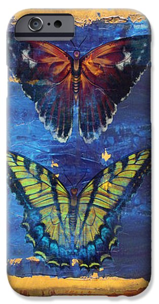 Buterfly iPhone Cases - Joy Butterflies iPhone Case by Jean PLout