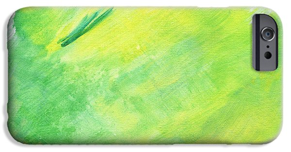 Abstract Expressionist iPhone Cases - Joy iPhone Case by Karyn Robinson