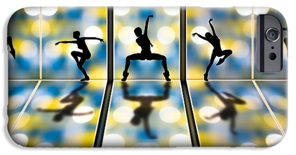 Dance Studio iPhone Cases - Joy Of Movement iPhone Case by Bob Orsillo