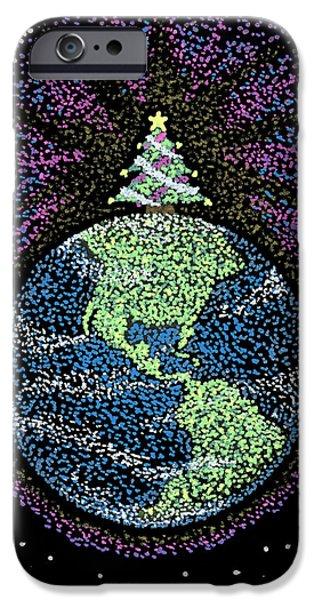 Keiko Katsuta iPhone Cases - Joyful Joyful iPhone Case by Keiko Katsuta