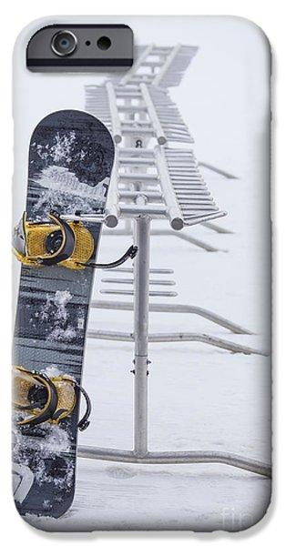 Board iPhone Cases - Joyride iPhone Case by Evelina Kremsdorf