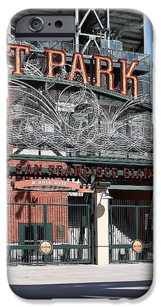 Juan Marichal at San Francisco ATT Park . 7D7639 iPhone Case by Wingsdomain Art and Photography