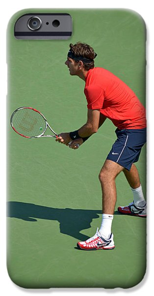 Juan Martin del Potro iPhone Case by Maria isabel Villamonte