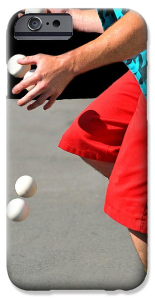 Juggling iPhone Cases - Juggler iPhone Case by Diana Angstadt