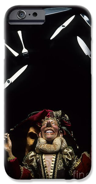 Jugglers iPhone Cases - Juggling Fun iPhone Case by Bob Christopher