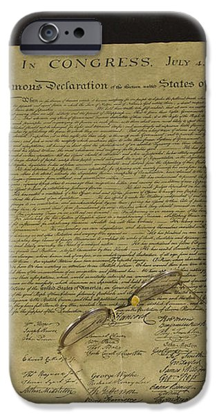 July 4 1776 iPhone Case by Jack R Perry