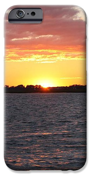 July 4th Sunset iPhone Case by JOHN TELFER