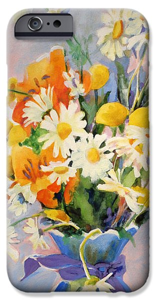 July iPhone Cases - July Summer Arrangement  iPhone Case by Kathy Braud