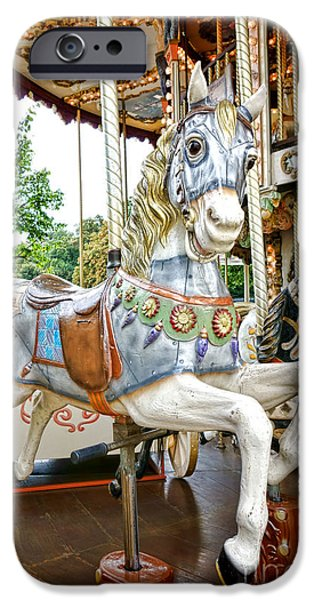 Carousel iPhone Cases - Jumper iPhone Case by Olivier Le Queinec