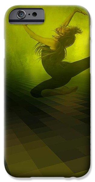 Jumping in iPhone Case by Gun Legler