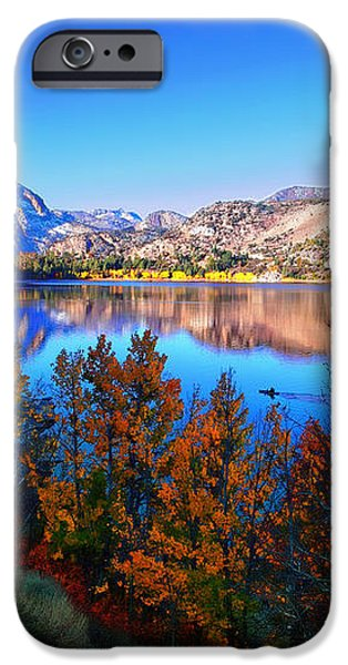 June Lake California Sunrise iPhone Case by Scott McGuire