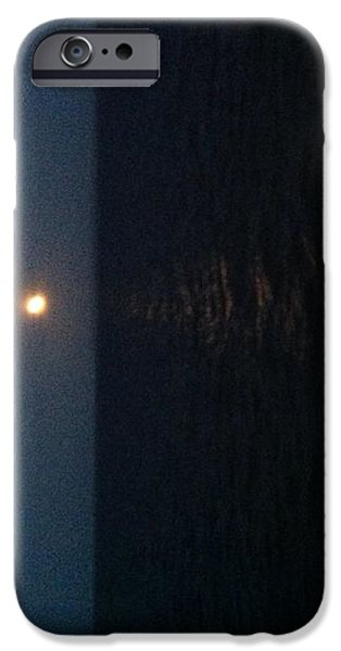 June Moon iPhone Case by Debra Burgess