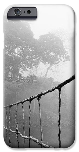 Jungle Journey 5 iPhone Case by Skip Nall
