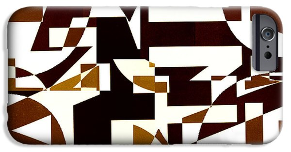 Abstract Digital iPhone Cases - Junk Mail 2 iPhone Case by Elena Nosyreva