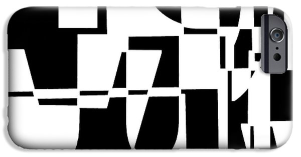 Abstract Digital Digital iPhone Cases - Junk Mail iPhone Case by Elena Nosyreva