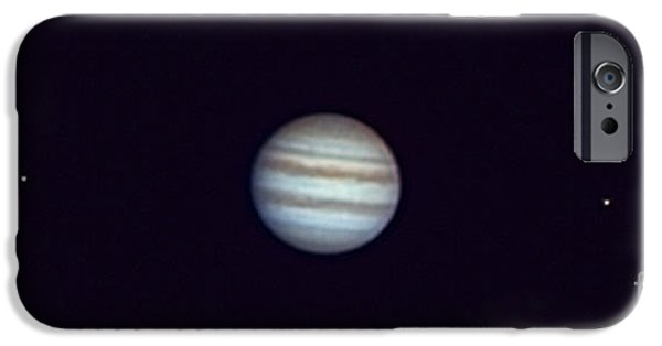 Galilean Moon iPhone Cases - Jupiter And Moons iPhone Case by John Chumack