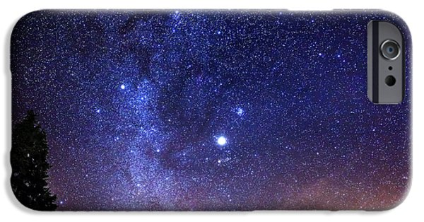 Stars Photographs iPhone Cases - Jupiter Rising iPhone Case by Alexis Birkill