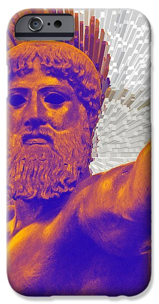 Jupiter - Zeus iPhone Case by Augusta Stylianou