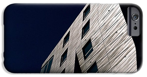 Cities Photographs iPhone Cases - Just a Facade iPhone Case by Rona Black