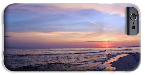 Panama City Beach iPhone Cases - Just After Sunset iPhone Case by Elizabeth Budd