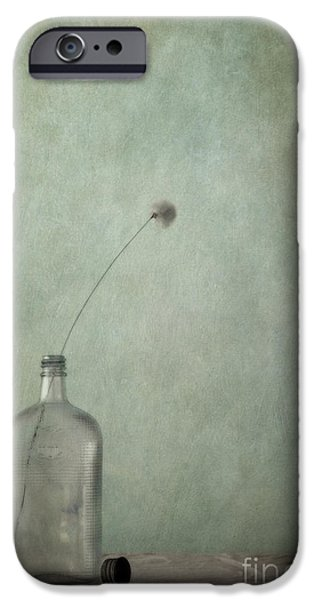 just an old bottle and its cap iPhone Case by Priska Wettstein