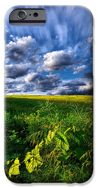 Geographic iPhone Cases - Just Another Day iPhone Case by Phil Koch