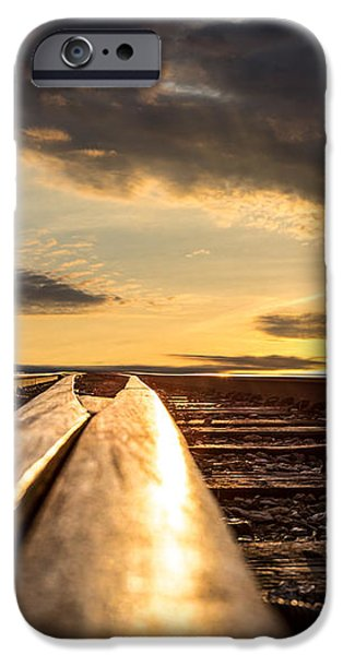 Just before sunrise iPhone Case by Bob Orsillo