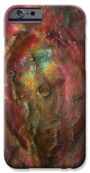 Painter Photo Digital Art iPhone Cases - Just Below iPhone Case by Jack Zulli