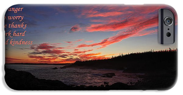 Quoddy iPhone Cases - Just for Today 9 iPhone Case by Bill Caldwell -        ABeautifulSky Photography