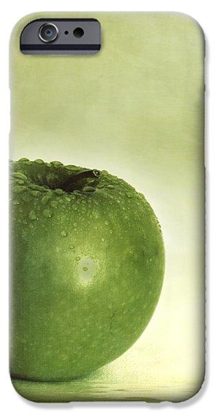 just green iPhone Case by Priska Wettstein