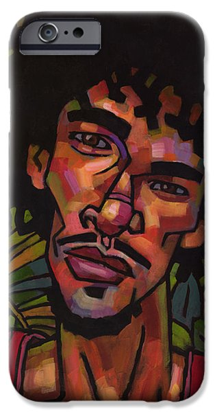 Afro iPhone Cases - Just Tell Me Why iPhone Case by Douglas Simonson