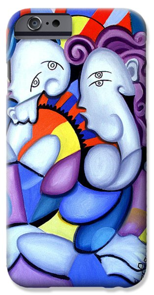 Posters Of Women iPhone Cases - Just The Two Of Us iPhone Case by Anthony Falbo