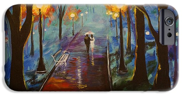 Pathway iPhone Cases - Just The Two Of Us iPhone Case by Leslie Allen