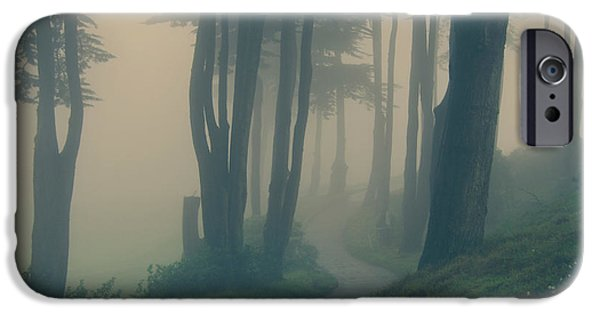 Fog Mist iPhone Cases - Just Whisper iPhone Case by Laurie Search