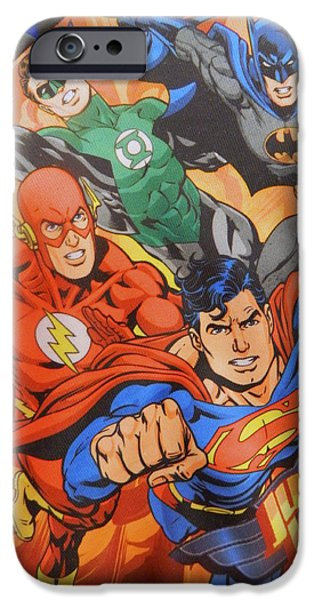 Justice League iPhone Cases - Justice iPhone Case by Bill Noyes