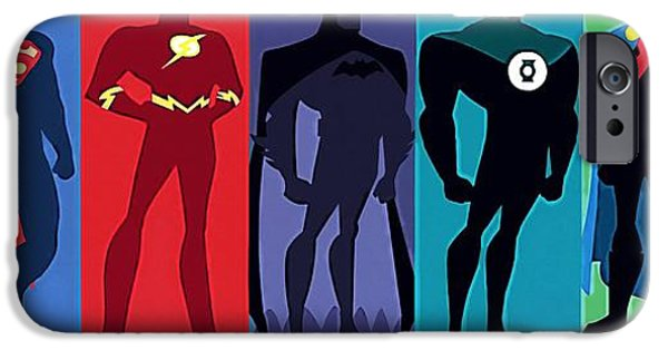 Justices iPhone Cases - Justice League iPhone Case by Victor Gladkiy